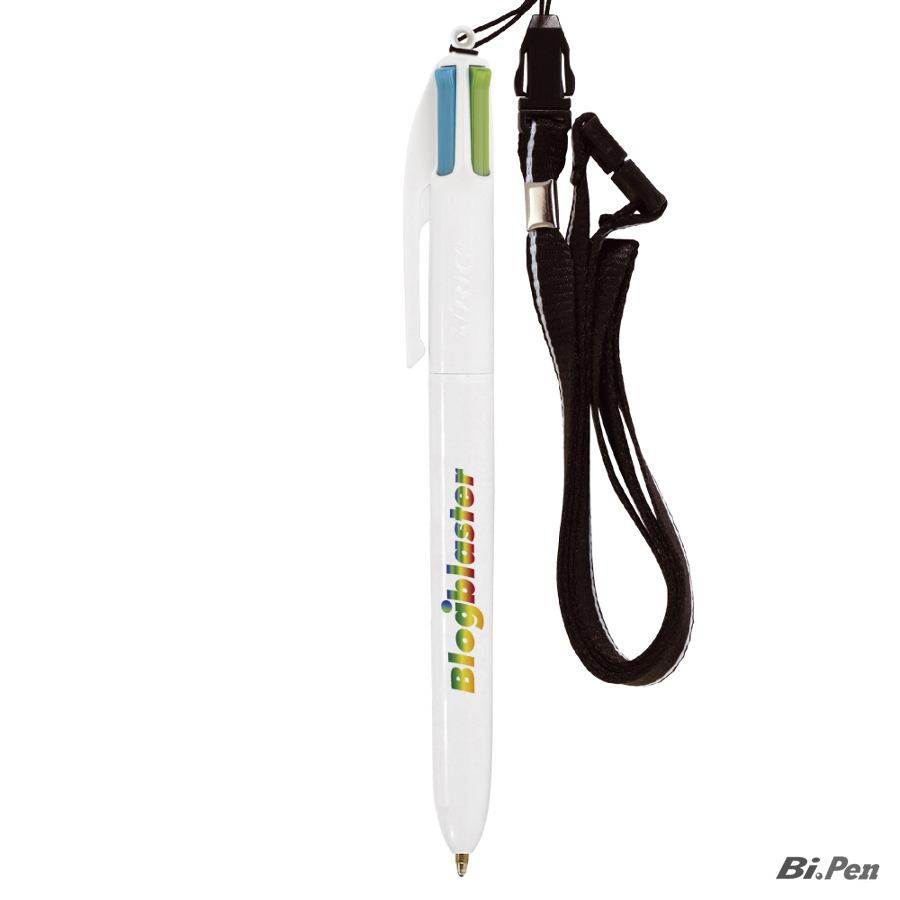 4 Colours Fashion britePix con Lanyard